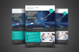 Business Firm Corporate Flyer Templa