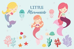 Little Mermaids.