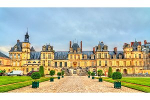 Chateau de Fontainebleau, one of the