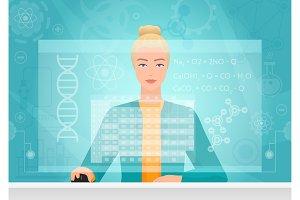 Chemist using virtual interface