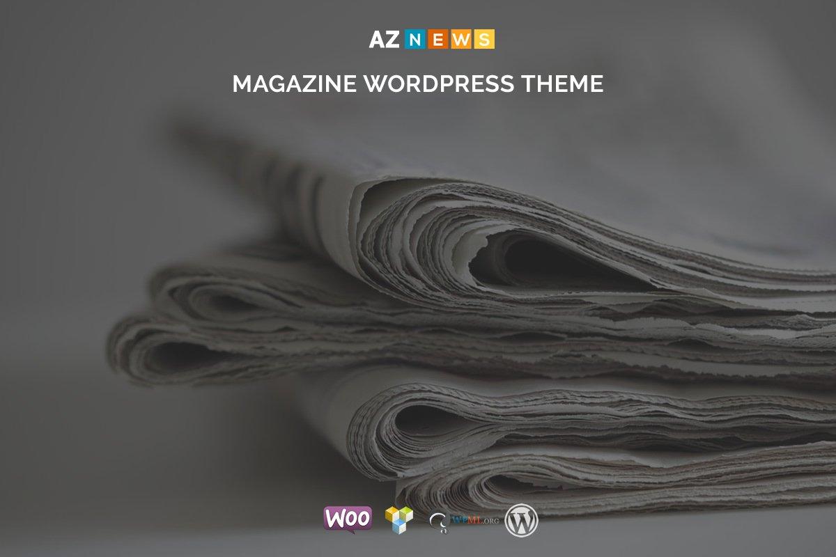 AzNews - Magazine WordPress Theme