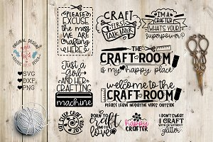 Mini Craft Bundle Cut Files