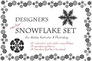 Designer's Snowflake Set