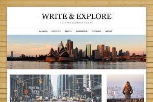 Responsive Blogily Premium