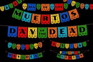 Dia de los Muertos Papel Picado