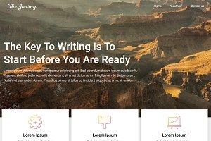 Customizable Blogily Premium