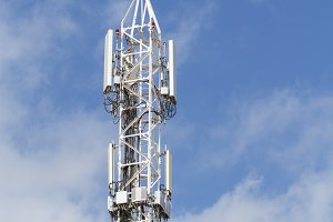 Telecommunications and mobile antenn