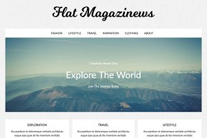 Flat Magazinews Premium