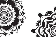 Mandala.Pagan symbol