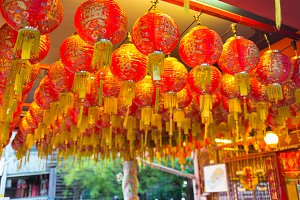 Chinese Lanterns, Chinese New Year