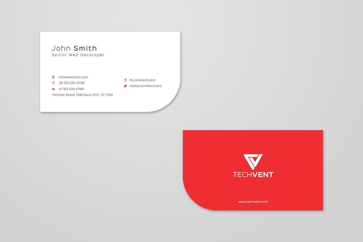simple curve business card template business card templates