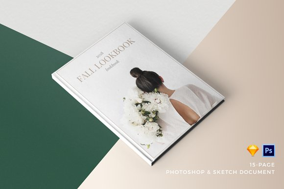 product fashion lookbook template presentation templates