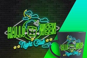 Halloween light (tshirt-mug-poster)