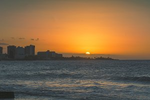 Condado Sunset Puerto Rico Pictures