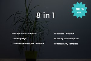Bundle - Responsive HTML5 Templates