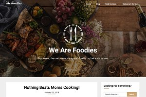 Foodie Blog Premium