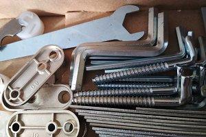 Ironmongery steel tapping screw