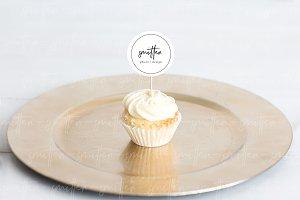 Cupcake Dessert Mockup