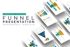 Funnel Presentation - Infographic