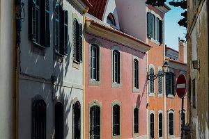 Portuguese houses in Cascais, PT