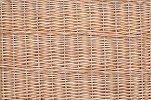 Wicker furniture light brown
