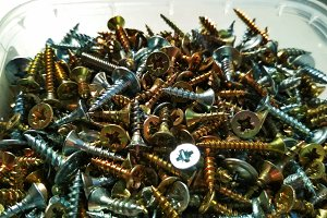 Ironmongery tapping screw background