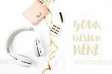 Styled photo. Product Mockup