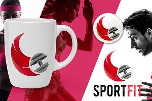 Sport fit logo