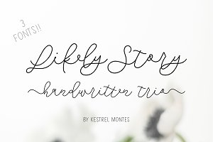Likely Story Font Trio