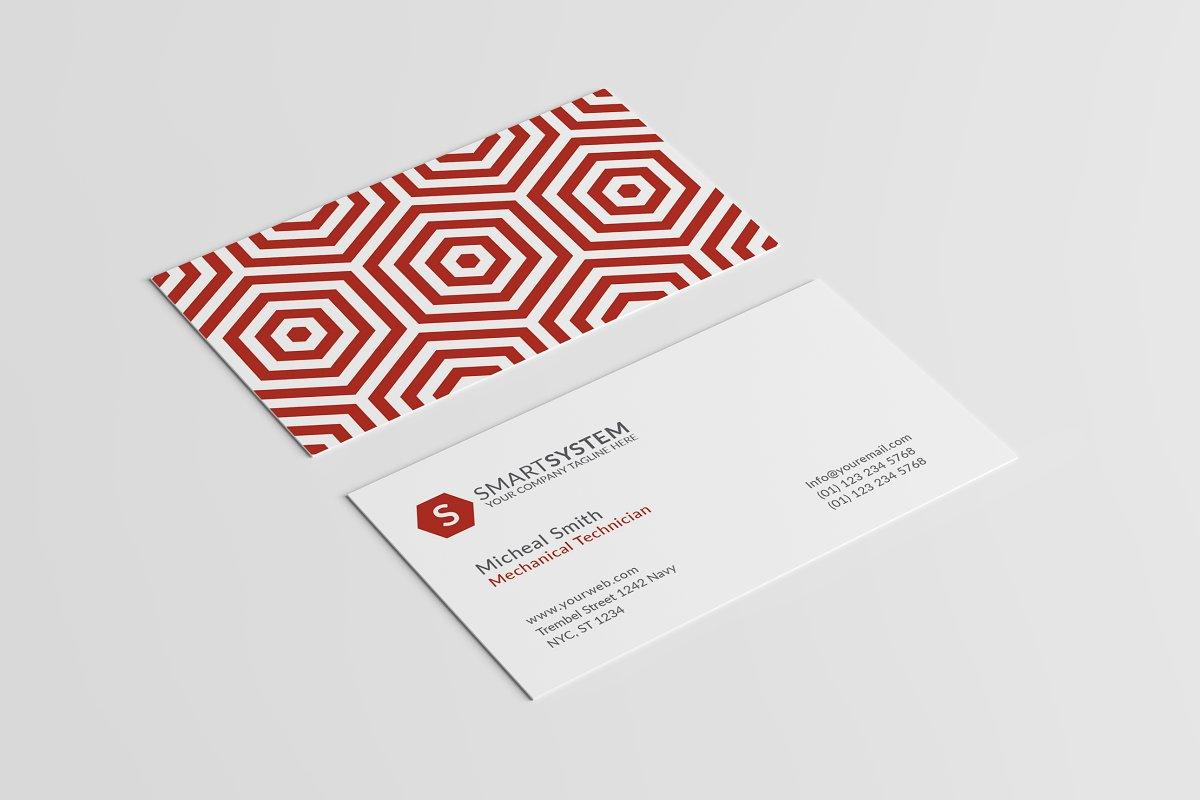 Pattern Business Card Template Vol 4