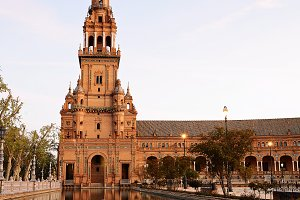 Spain Square, Sevilla - Spain.