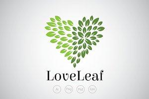 Love Leaf Logo