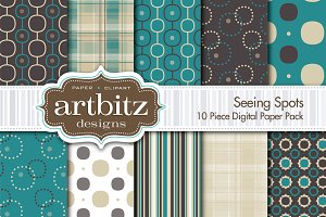 Seeing Spots 10 Piece Digital Paper