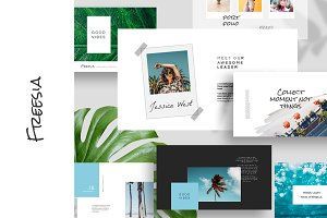 Freesia Keynote Template