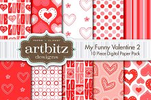 My Funny Valentine V2 Digital Paper