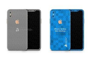 Apple iPhone Xs Max Vinyl Skin