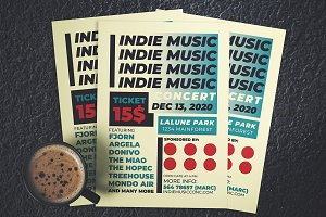 Indie Music Concert Flyer