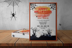 Halloween Party Flyer - V866