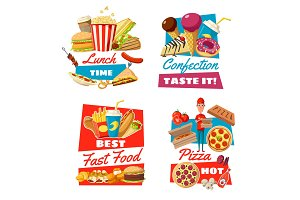 Fast food and confectionery