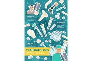 Traumatology, doctor