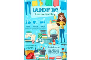 Laundry, household