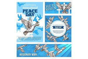 Peace day and missionary
