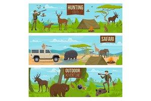 Hunting sport adventure