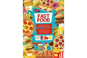 Fast food menu cover