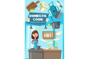 Household kitchen chores