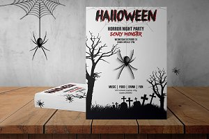 Halloween Party Flyer - V868