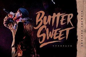 Butter Sweet Typeface