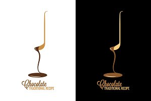 Chocolate wrapper design menu