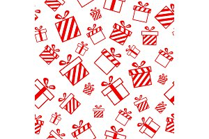 Christmas Seamless Pattern EPS JPG