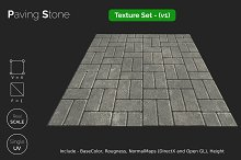 Paving Stone_seamless textures set by  in Road